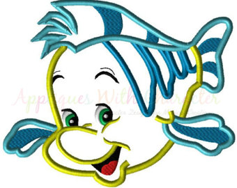 Flounder fish.