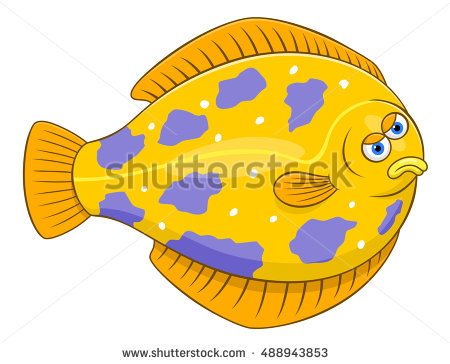 Floundering Stock Photos, Royalty.