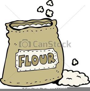 Sack Of Flour Clipart.