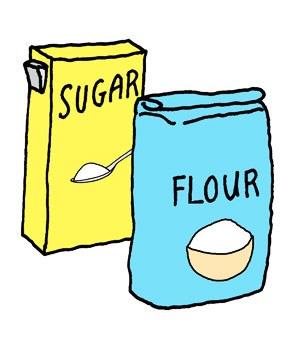 275 Flour free clipart.