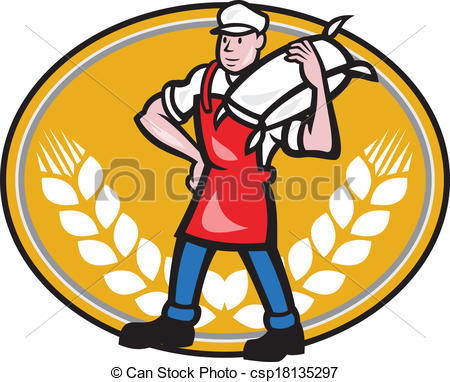 Flour mill Stock Illustrations. 977 Flour mill clip art images and.