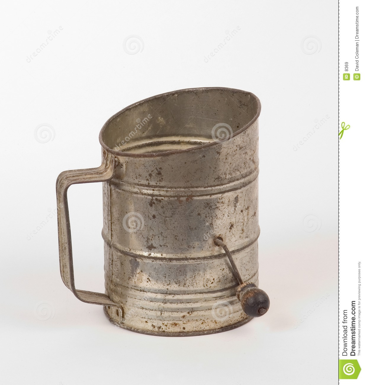 Flour Sifter Royalty Free Stock Images.