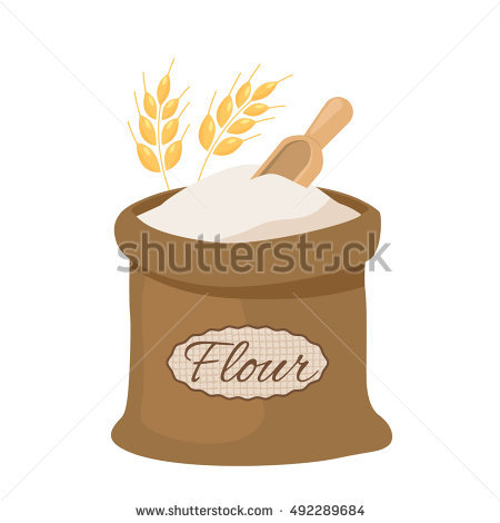 Flour Stock Images, Royalty.