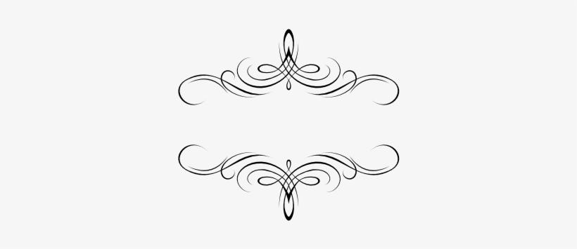 Flourish Wedding Monograms Clipart.