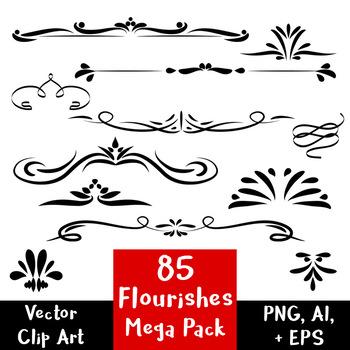 85 Flourishes.