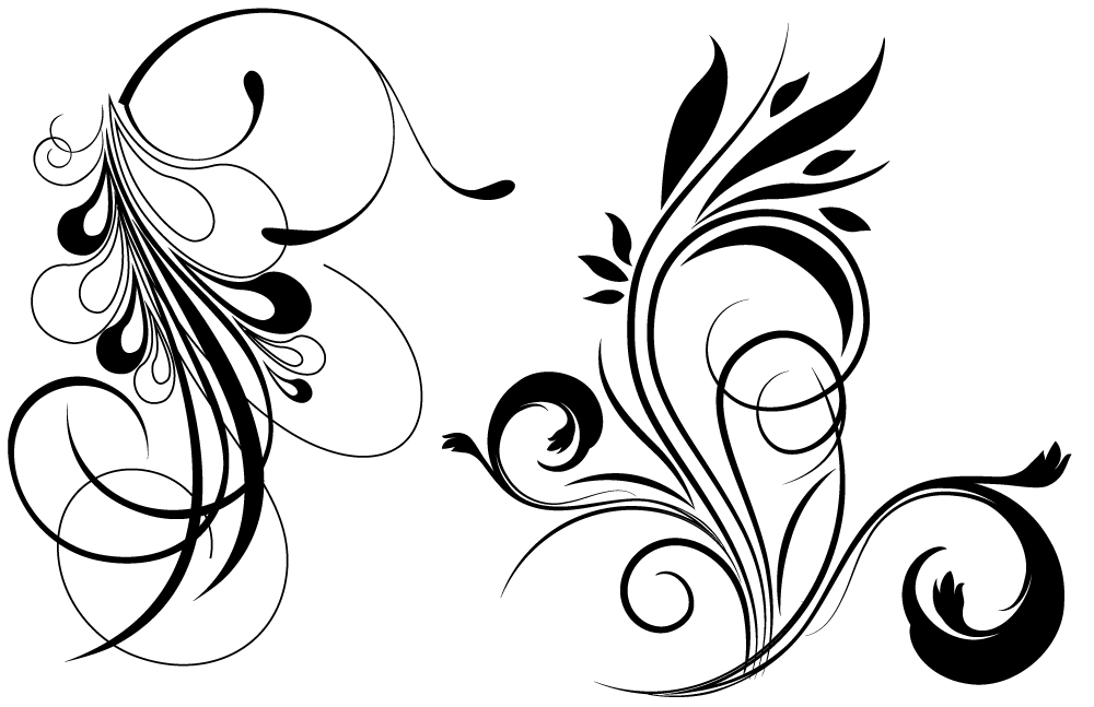Free Flourish Vector, Download Free Clip Art, Free Clip Art.