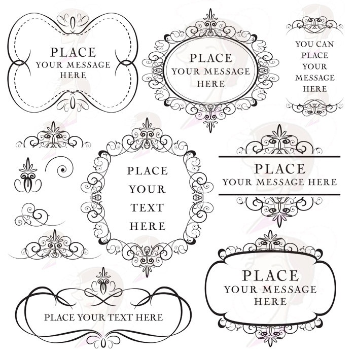 1000+ images about Printables ~ Flourishes, Borders, Frames.