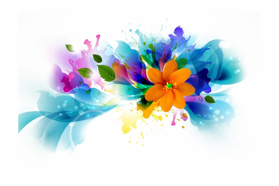 Abstract Flower Png Background Image Flower Abstract.
