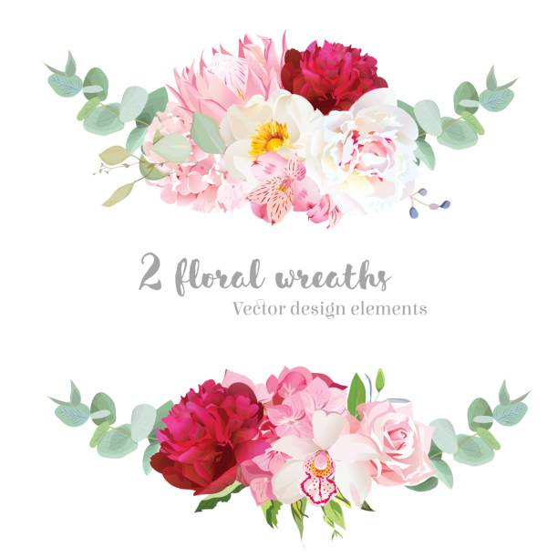 Best Flower Arrangement Illustrations, Royalty.