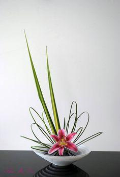 japanese flower arrangment.