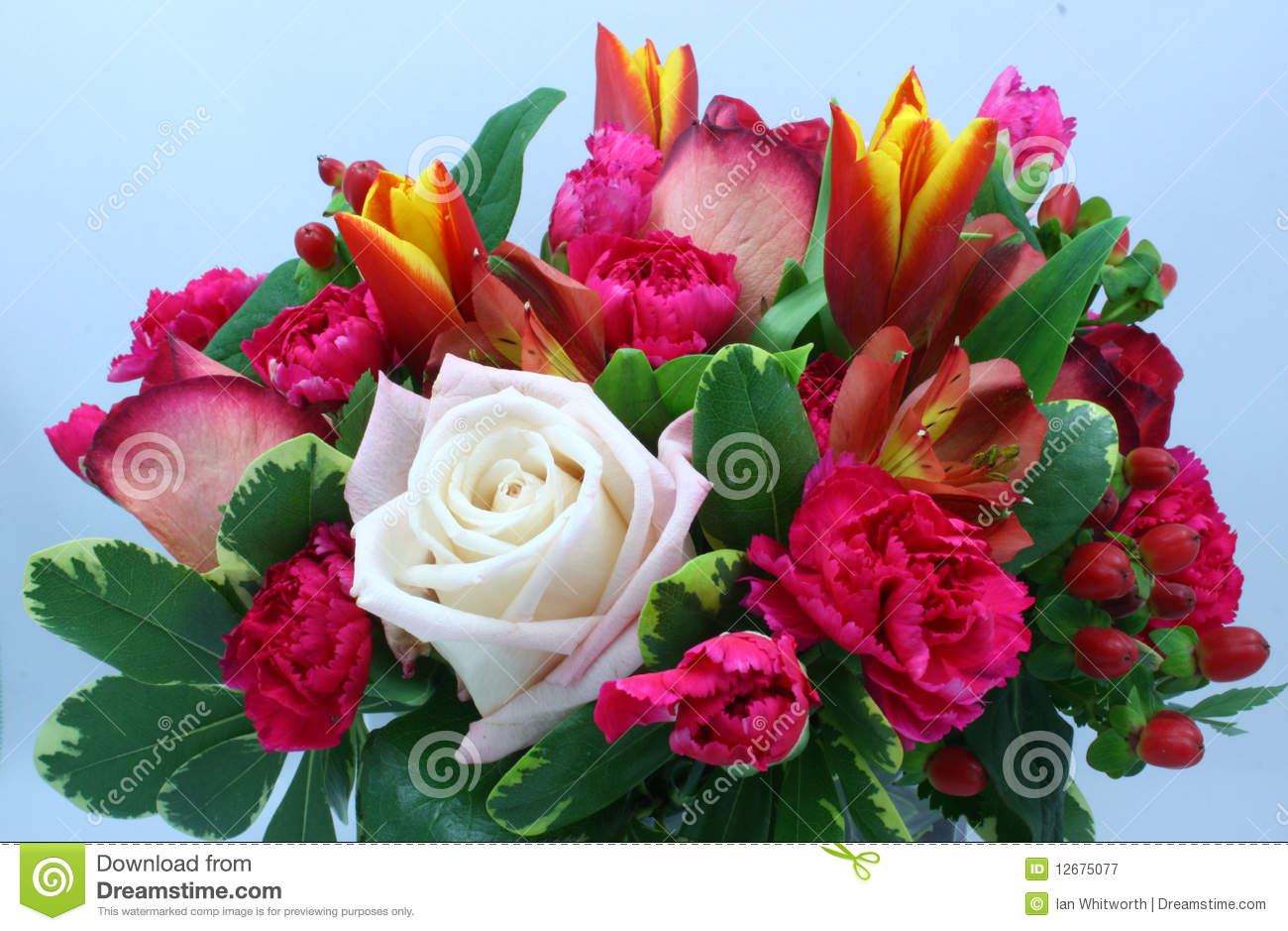 Flower Arrangement Royalty Free Stock Images.