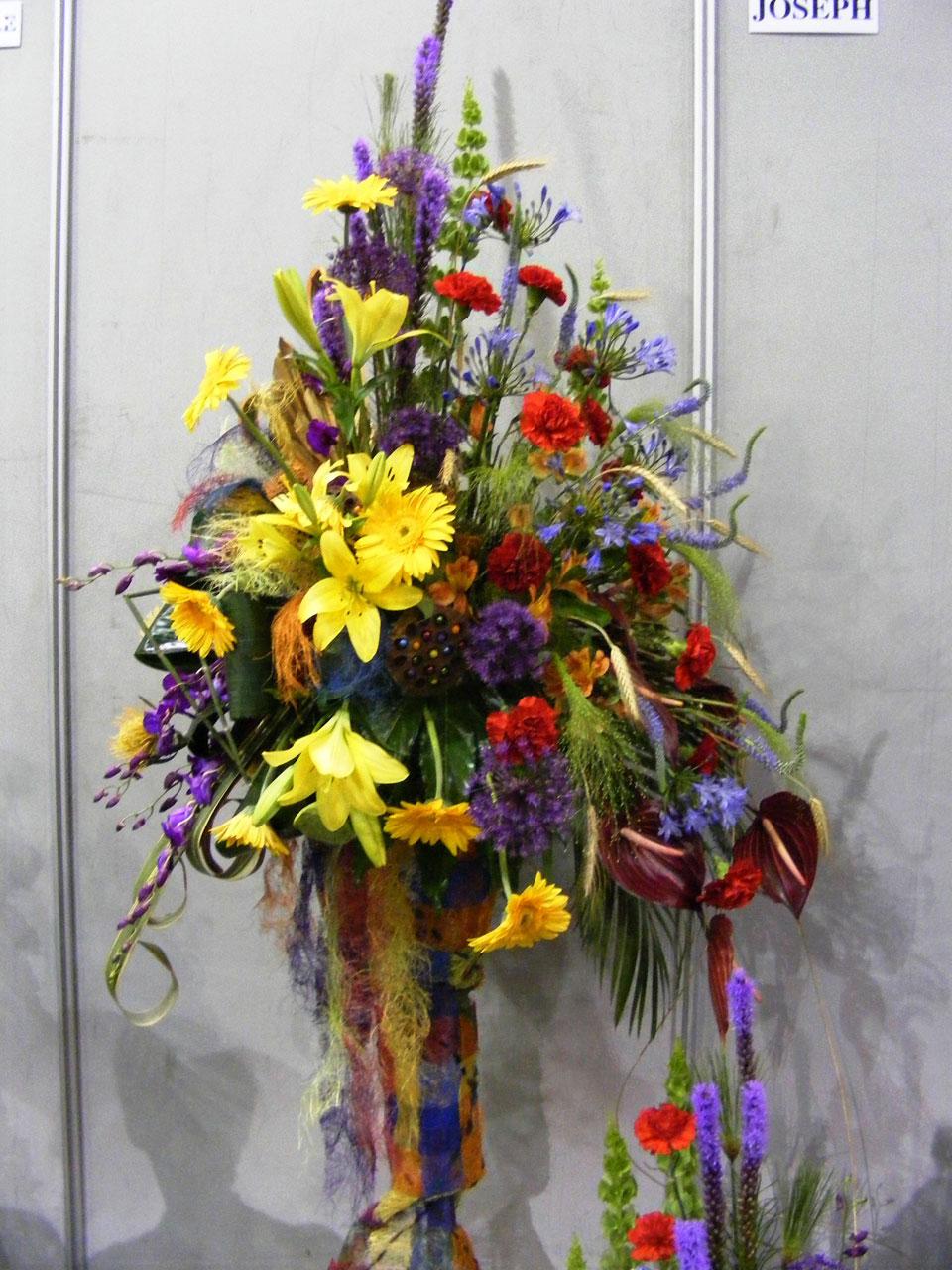 Flower Arrangement Free Stock Photo.