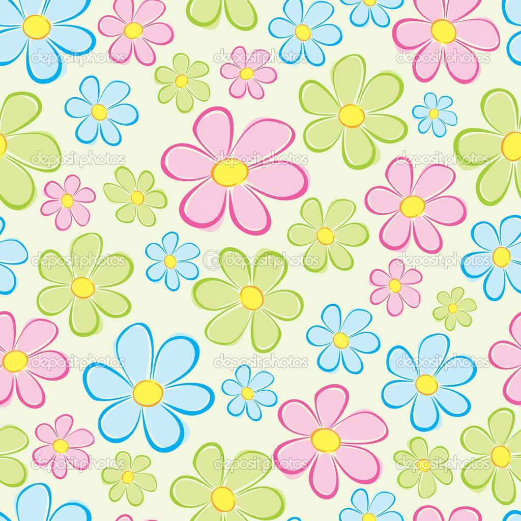 Flower Clipart Background.