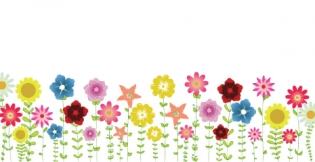 Clipart flowers spring.