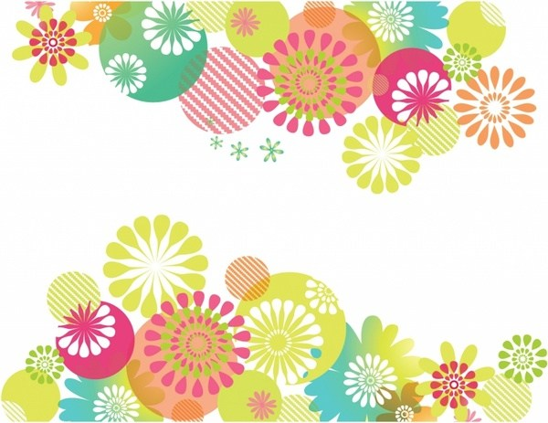 Free flower background clipart 7 » Clipart Portal.