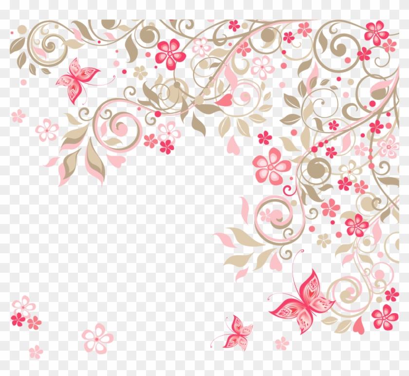 Flower Background Clipart.