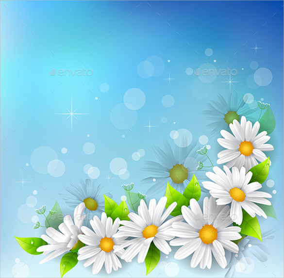 Flower Backgrounds.