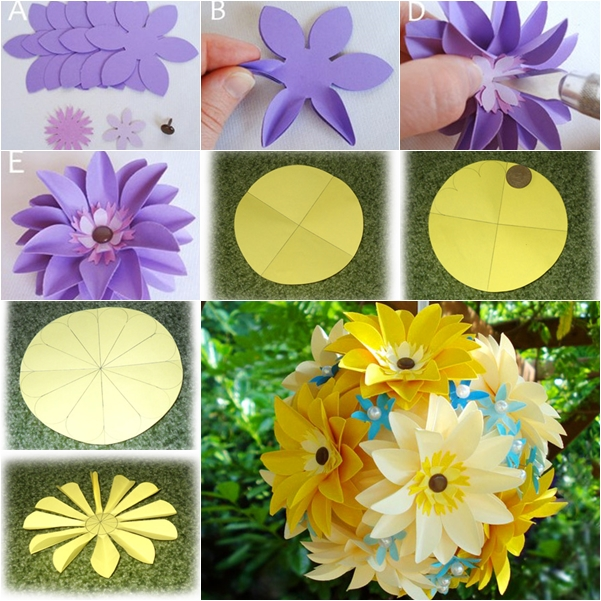 How to DIY Easiest Tissue Paper Flower Ball.