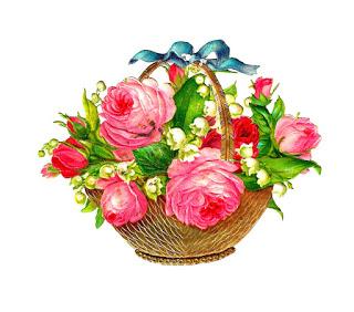 Flowers Basket Pics.