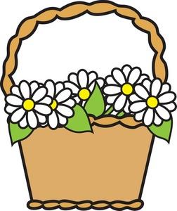 Basket Clipart Image.