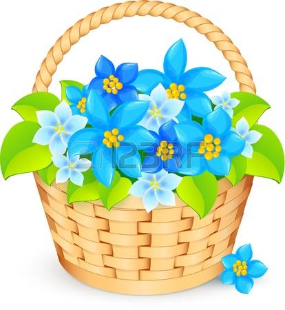10,841 Flower Basket Stock Illustrations, Cliparts And Royalty.