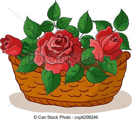 Flower basket Stock Illustrations. 5,453 Flower basket clip art.