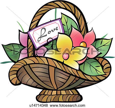 Flower basket Clip Art and Illustration. 3,091 flower basket.