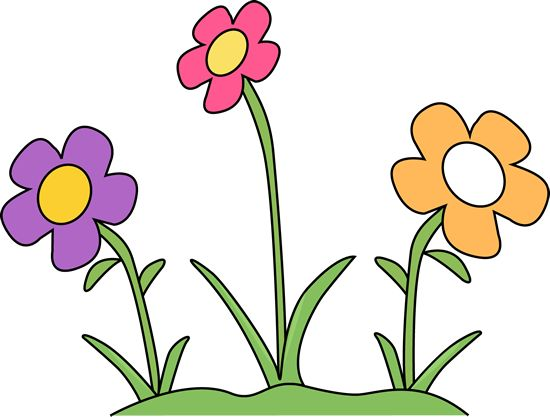 Flower Bed Clipart.