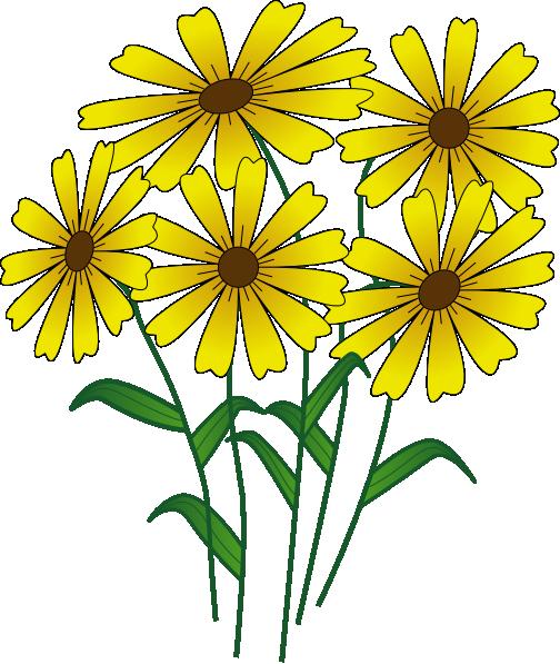 Flower Garden Clipart.