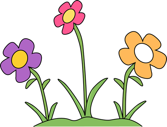 Garden Flower Bed Clipart.