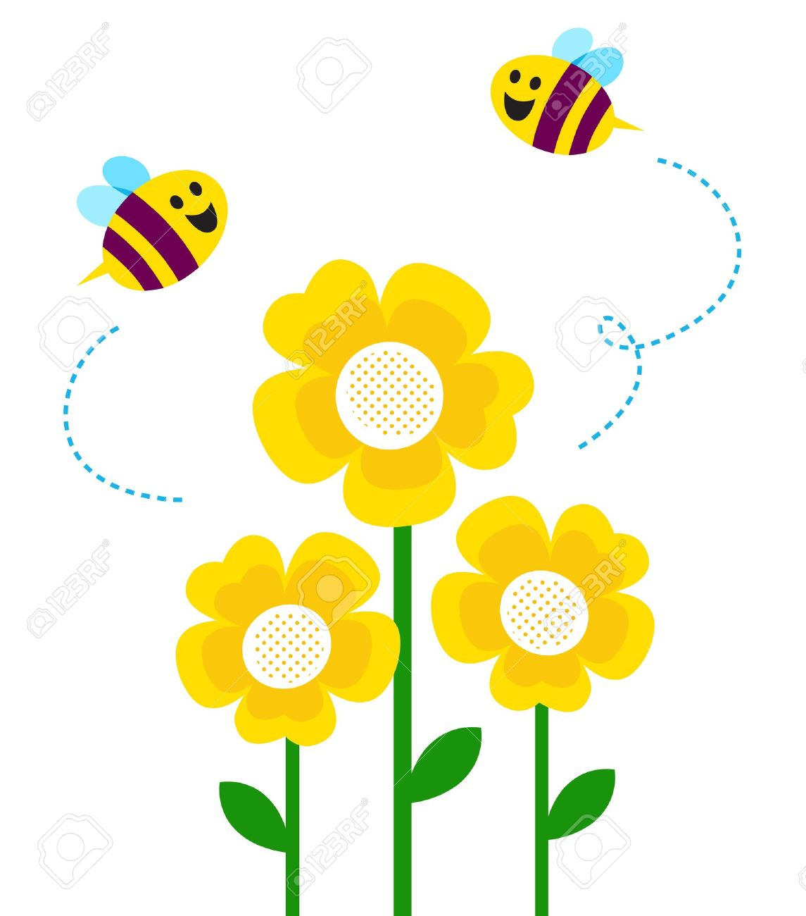 Flower bee clipart 20 free Cliparts