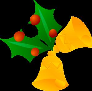 Christmas Bells (rotated) Clip Art at Clker.com.