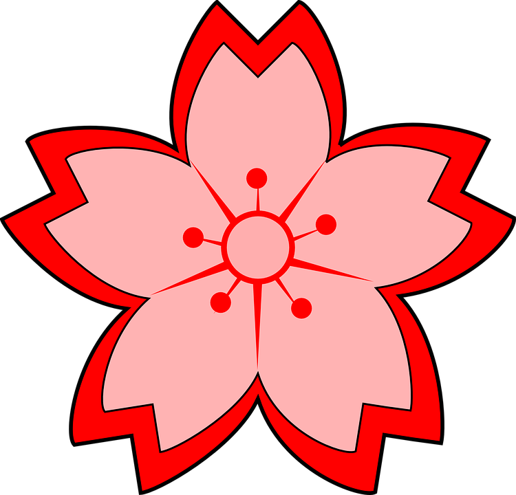 Free vector graphic: Flower, Blossom, Red, Daffodil.