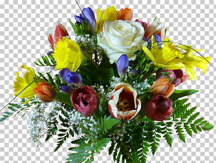 Flower bouquet Birthday Cut flowers, banquet PNG clipart.