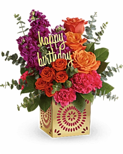 birthday flowers , Free png download.