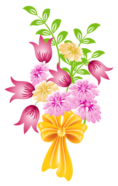 Spring Bouquet PNG Clipart.