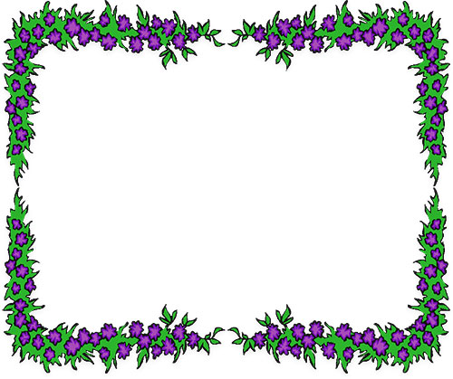 clipart flower borders and frames #15