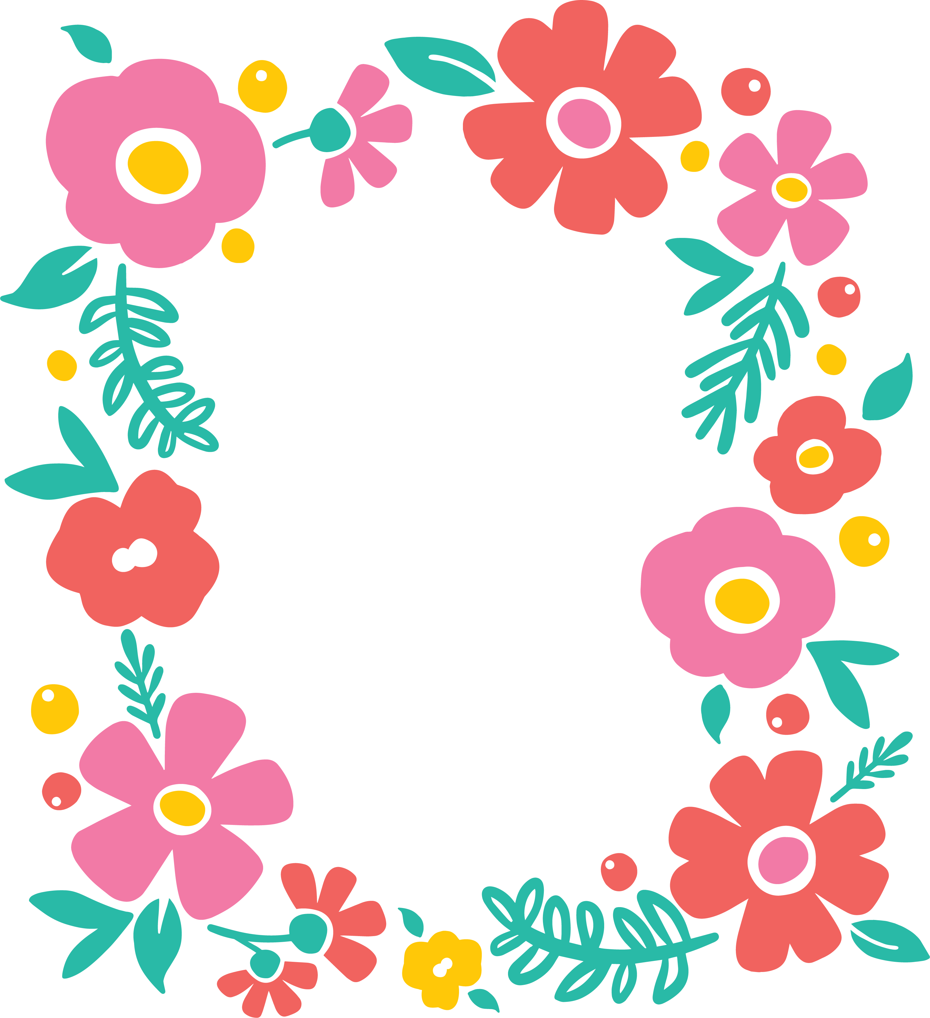 Free Svg Flower Cut File For Silhouette Or Cricut Persia.