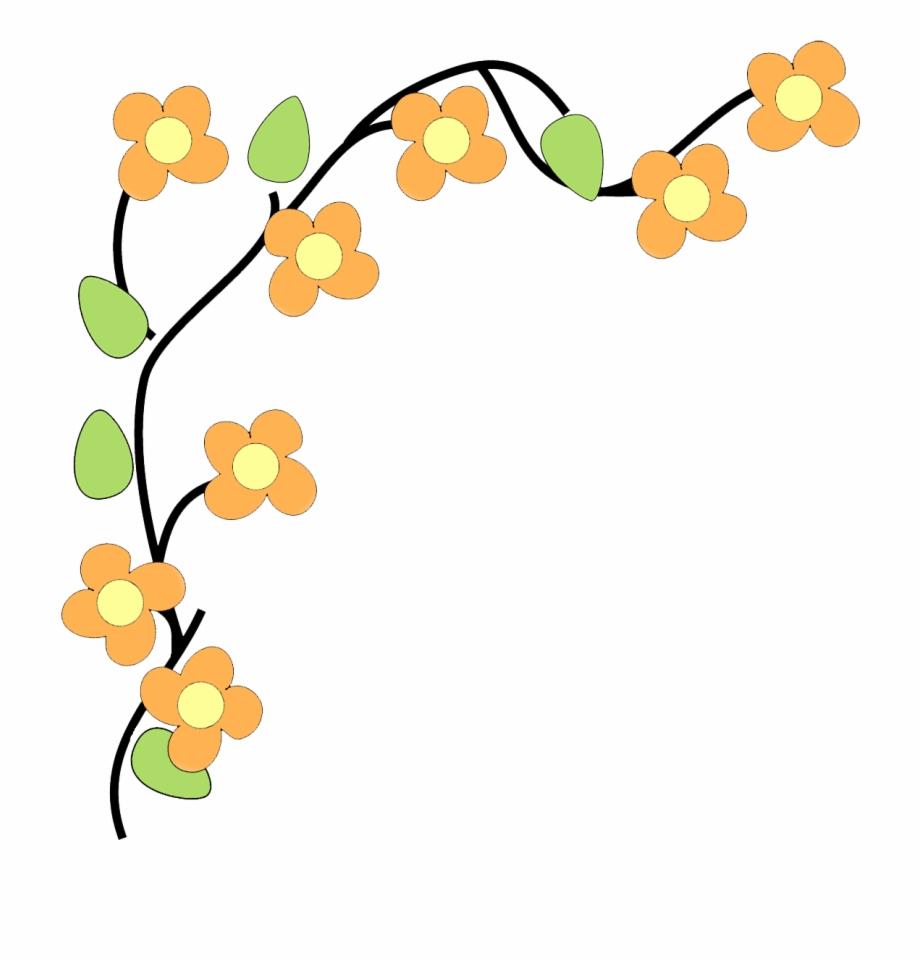 Clip Art Flowers Border Png.