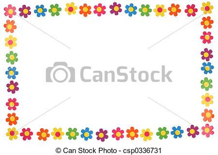 Flower Borders And Lines Clipart.