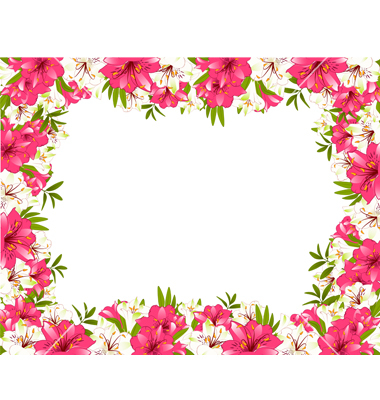 Flower Borders Free Download.