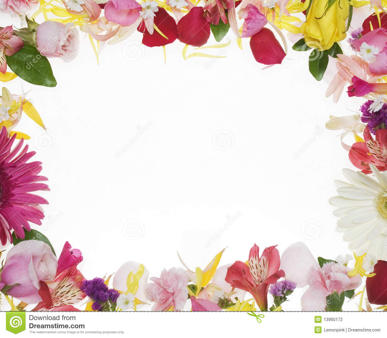 Swirl Wall Stickers Flower Boreder Clipground