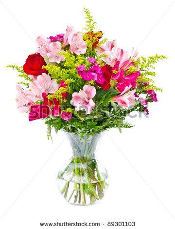 Free Clip Art Flower Arrangement.