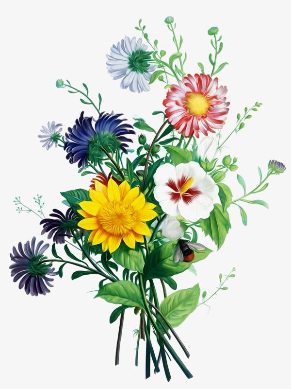 Flower Bouquet, Flower Clipart, Bunch, Flower Arrangement.