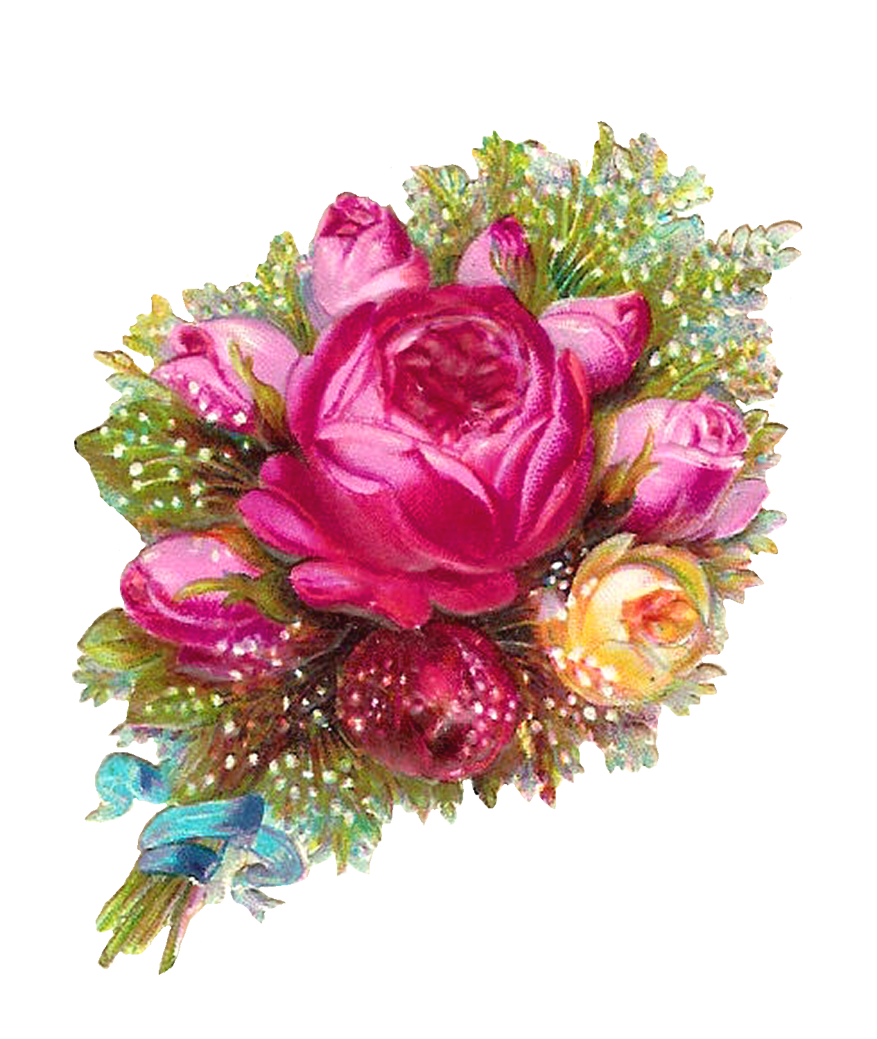 Flower bouquet Rose Clip art.