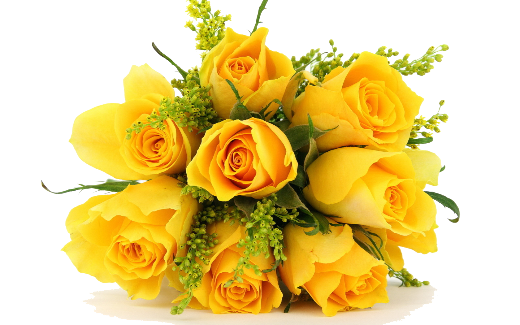 Download Yellow Flowers Bouquet PNG Photos.