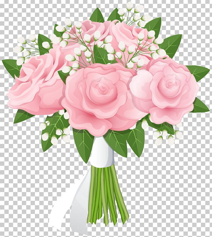 Flower Bouquet Rose Pink PNG, Clipart, Artificial Flower, Clipart.