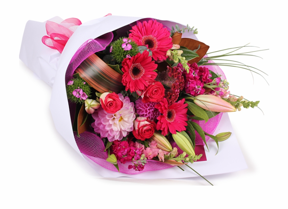 Birthday Flowers Bouquet Transparent Png.