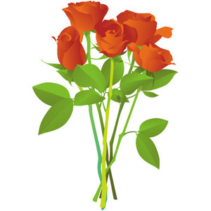 Free Flower Bouquets Clipart.
