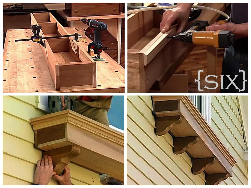 Ten DIY Window Box Planter Ideas with Free Building Plans.